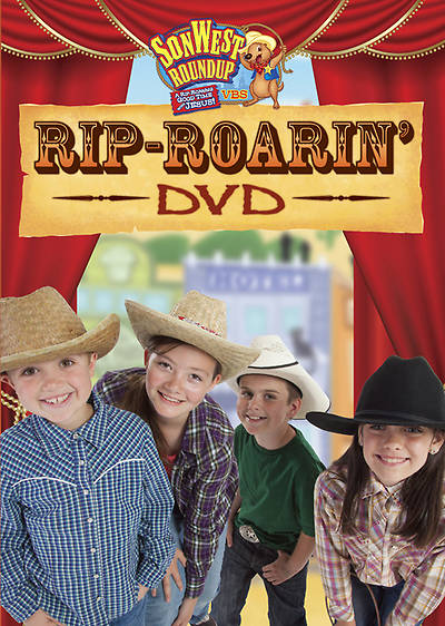 Gospel Light Vacation Bible School 2013 SonWest RoundUp Rip-Roarin DVD
