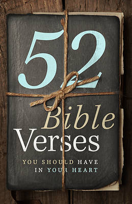Picture of 52 Bible Verses You Should Have in Your Heart