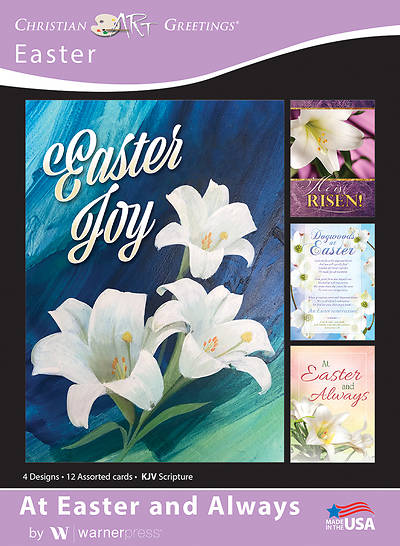 Picture of At Easter and Always Boxed Cards (Box of 12)