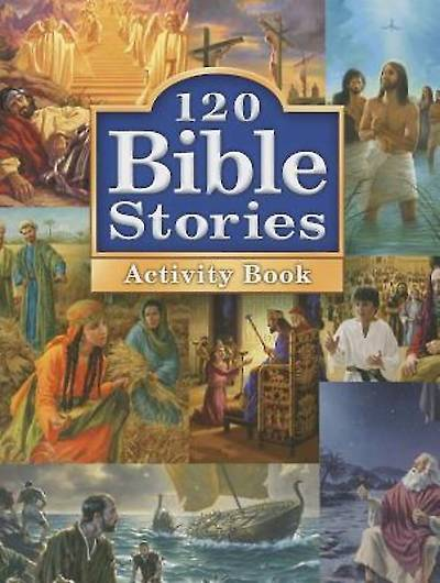 Picture of 120 Bible Stories Activity Book