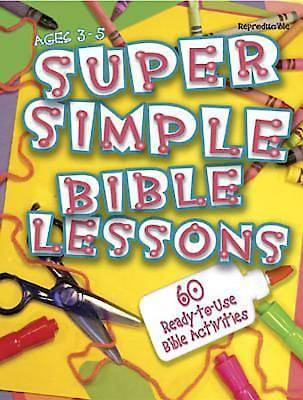 Super Simple Bible Lessons (Ages 3-5) - eBook [ePub]