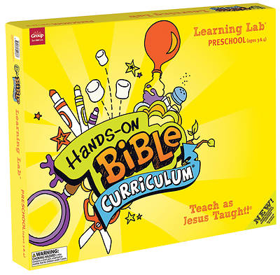 Picture of Hands-On Bible Curriculum Preschool Learning Lab Spring 2016