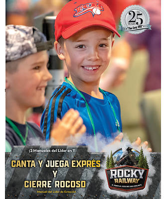 Picture of Vacation Bible School VBS 2021 Rocky Railway Sing & Play Express and Rocky Wrap-Up Leader Manual (Spanish for Bilingual Edition)