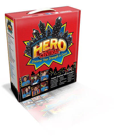 Vacation Bible School VBS Hero Central Super Starter Kit