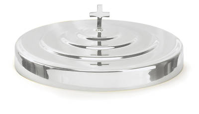 Chrome Communion Tray Cover