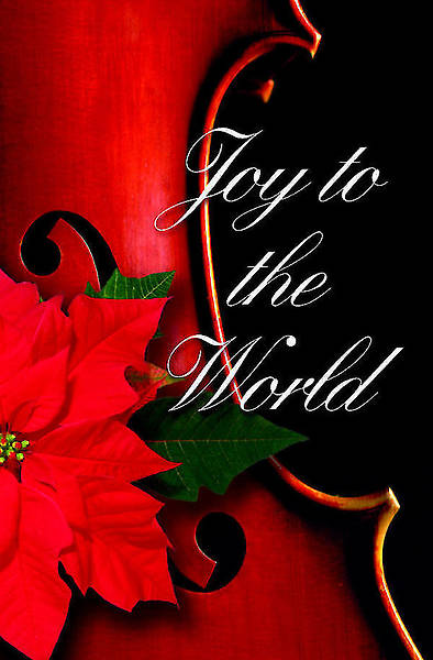 Joy To the World Christmas Music Bulletin 2012, Regular Size (Package of 50)
