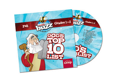 Groups Buzz Grades 1&2 Gods Top 10 List CD Fall 2013