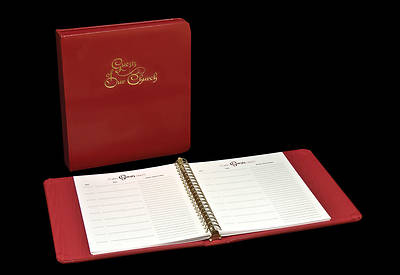 Guests of Our Church Register Refill Pages Package of 25