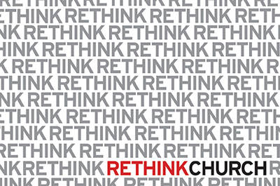 Postcard Rethink Church(Package of 25)