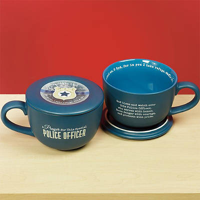 Special Police Officer Soup Mug