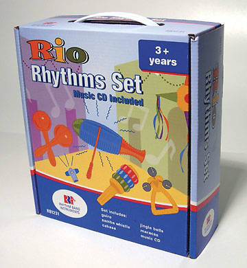Rio Rhythms Set with CD