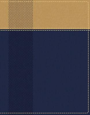 Picture of Niv, Starting Place Study Bible, Leathersoft, Blue/Tan, Indexed, Comfort Print