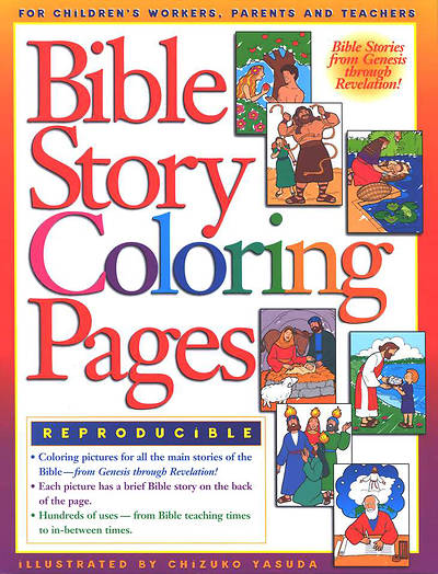 Bible Story Coloring Pages Reproducible