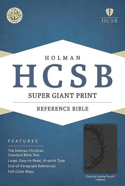 Picture of HCSB Super Giant Print Reference Bible