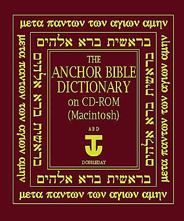 Anchor Bible Dictionary on CD-ROM for Macintosh®