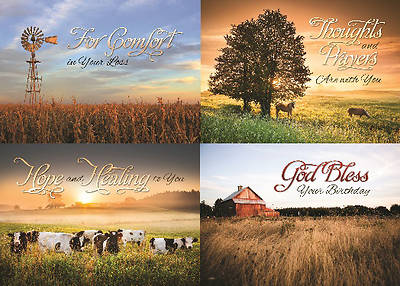 Picture of Peaceful Pastures General Boxed Cards