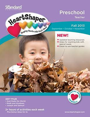 Standard Heartshaper Preschool Teacher Book Fall 2013