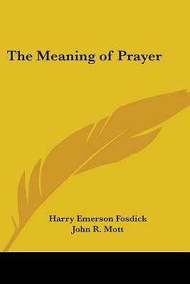 Picture of The Meaning of Prayer