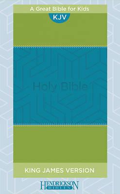 Picture of KJV Kids Bible Flexisoft Blue & Green