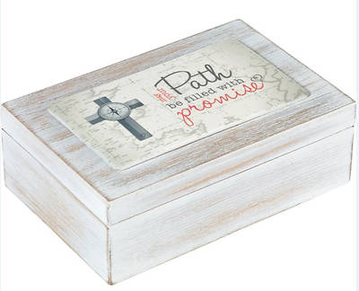 Picture of May Your Path Be Filled With Promise Music Box