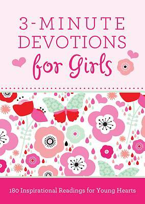 Picture of 3-Minute Devotions for Girls [ePub Ebook]
