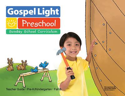 Picture of Gospel Light PreK-K Age 4-5 Teacher Guide Year B Fall