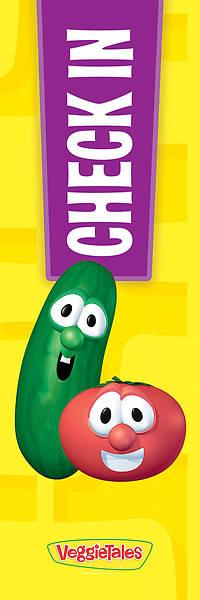 Picture of VeggieTales Check In  2' x 6' Vinyl Banner