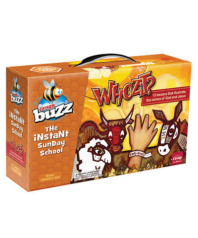 Picture of Buzz Grades 5-6 Whozit Kit Winter 2020-2021