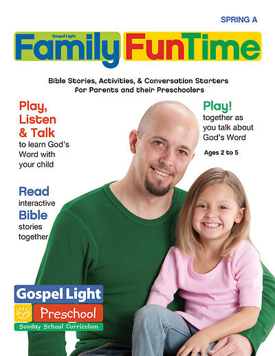 Gospel Light PreSchool 25 Take Home Paper Spring