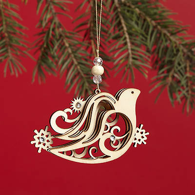 Picture of Flourish Ornament Dove