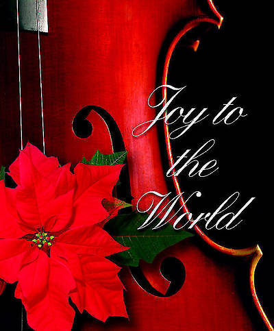 Joy To the World Christmas Music Bulletin 2012, Large Size (Package of 50)