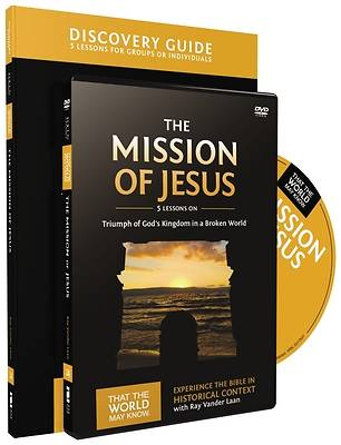 Picture of The Mission of Jesus Discovery Guide with DVD