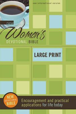 New International Version New Womens Devotional Bible, Large Print