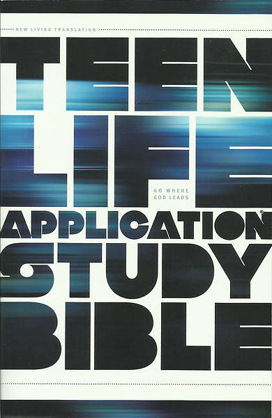 Teen Life Application Study Bible NLT - Pink