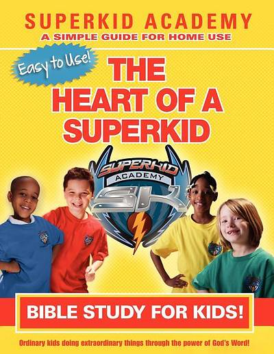 Picture of Ska Home Bible Study for Kids - The Heart of a Superkid
