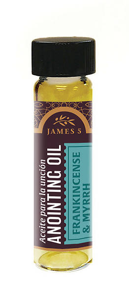 James 5 Frankincense and Myrrh Anointing Oil - 1/4 oz.