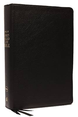 Picture of NKJV, Spirit-Filled Life Bible, Third Edition, Genuine Leather, Black, Red Letter Edition, Comfort Print, Comfort Print