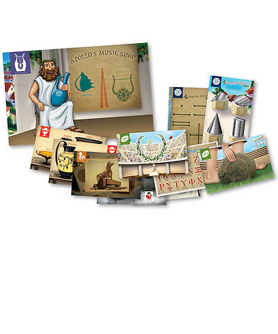 Group VBS 2013 Athens Marketplace Shops Poster Pack (set of 12)