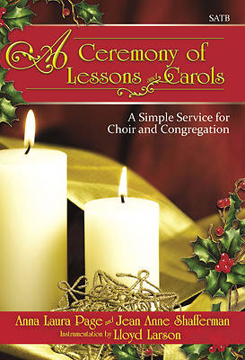 A Ceremony of Lessons and Carols SATB Choral Book