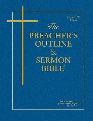 Picture of Preacher's Outline & Sermon Bible-KJV-1 Kings