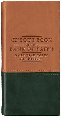 Chequebook of the Bank of Faith Tan/Grn