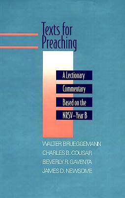Texts for Preaching Year B
