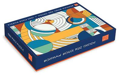 Picture of Frank Lloyd Wright Foundation Hoffman House Rug Design 1000 Piece Puzzle