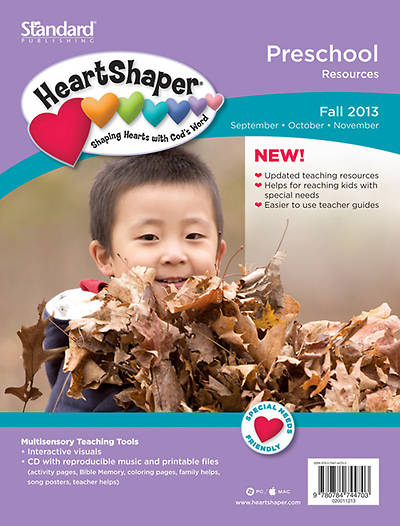 Standard Heartshaper Preschool Resources: Fall 2013
