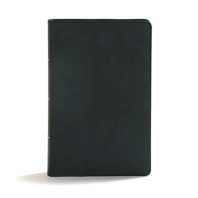 CSB Disciples Study Bible, Black Leathertouch