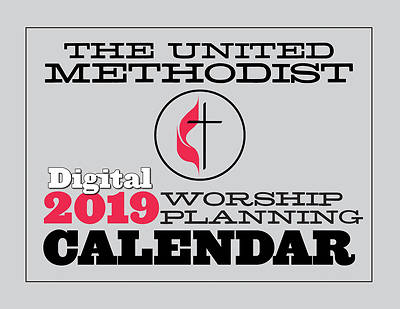 Picture of The United Methodist Digital Worship Planning Calendar 2019