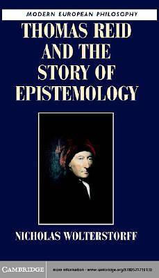 Thomas Reid and the Story of Epistemology [Adobe Ebook]