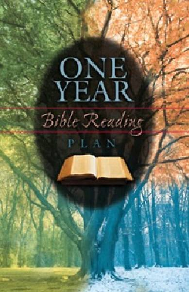 One Year Bible Reading Plan