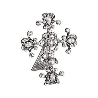 Bedside Cross Crystal - 3 Style Assortment 2.5""