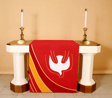 Abbott Hall Ascension Series N6552 Pentecost Altar Antependia